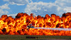 Wall of Fire at the Rocky Mountain Metro Airport, August 29, 2010.