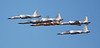 VFC-13 Saints 6 aircraft delta fly-by NAS Fallon September 2009