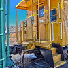 HDR of a Caboose in the Union Pacific Engine Maintenance yards, Denver CO.