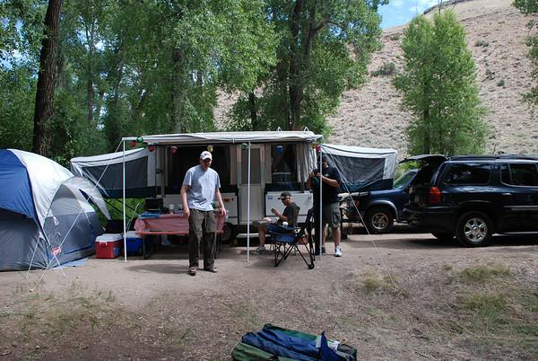 Gunnison Colorado Camping 7-25-09